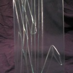 Tack Fused Recycled Glass - Tall Grass