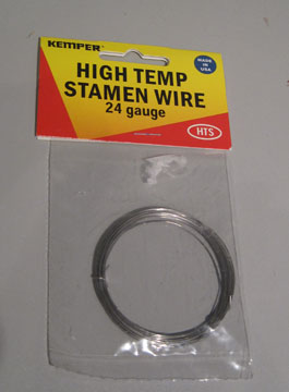 High Temp Stamen Wire